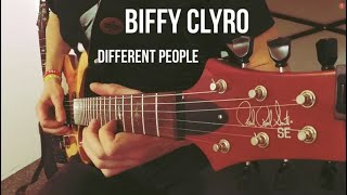Biffy Clyro - Different People   Guitar Cover
