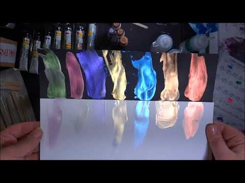 DIY Interference Paint- Color Shift Paint (106) Great for Acrylic Pouring