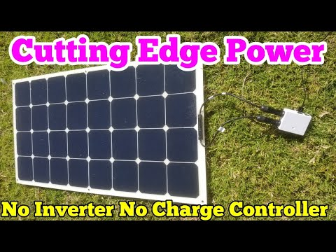 Solar Panels Direct | No Inverter - No Battery Bank - No Charge Controller