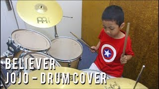 Believer Roblox - Jojo (Drum Cover)