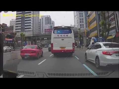 [Busan, South Korea] Driving from Seomyeon to Jung-gu