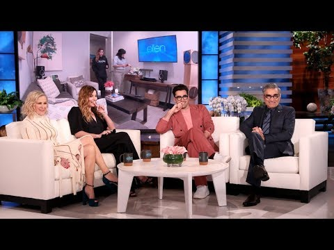 'Schitt's Creek' Star Annie Murphy Gets Pranked by Co-Stars Dan ...