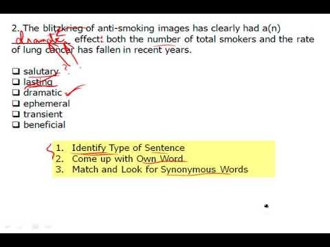 Magoosh GRE   Synonymous Sentences   II