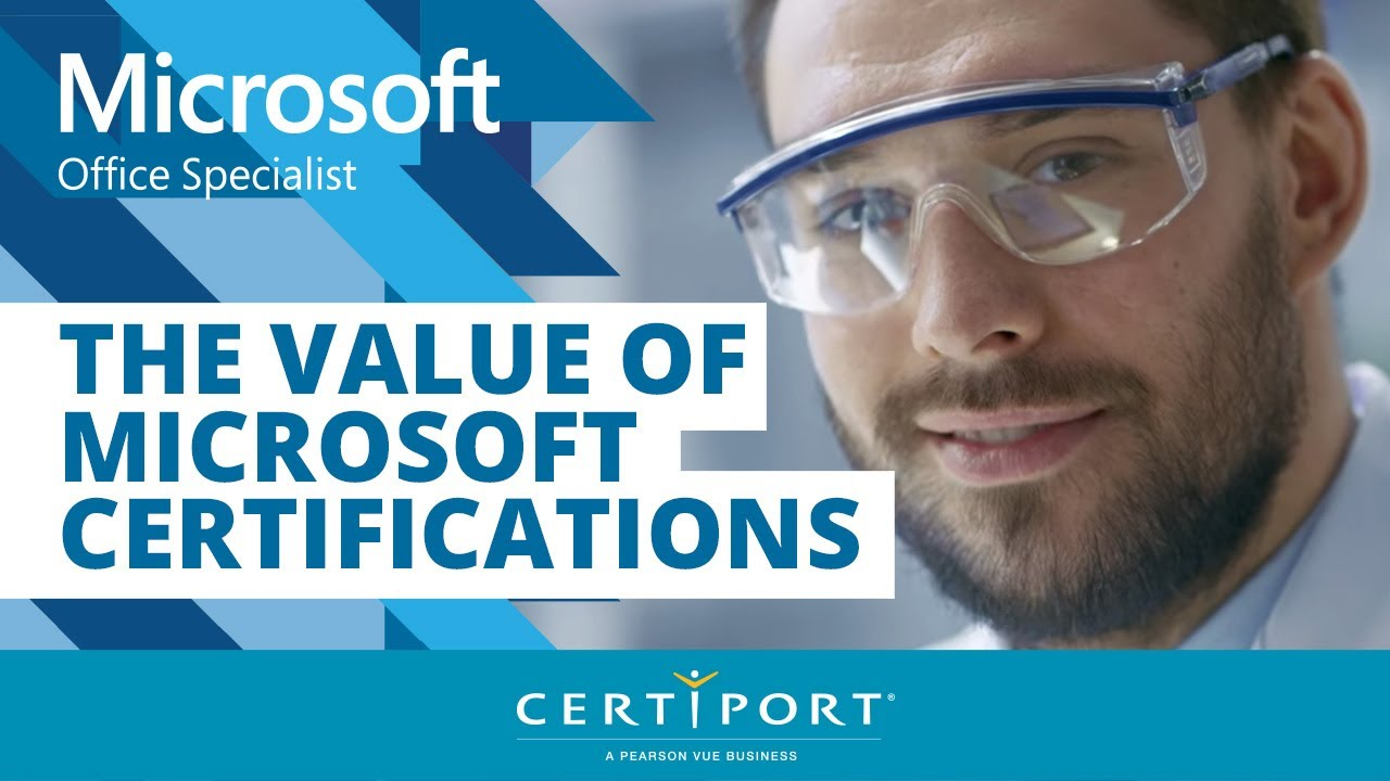 The Value Of Microsoft Certifications Youtube