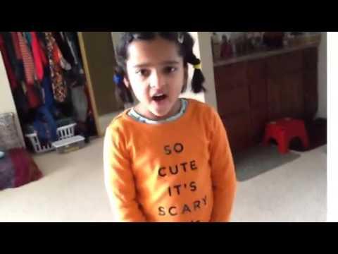 Adria's first karaoke