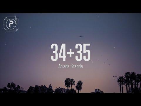 34+35 - Ariana Grande (Lyrics)