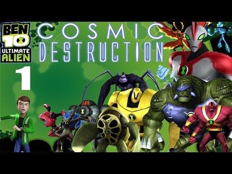 Let's Play Ben 10 Ultimate Alien: Cosmic Destruction #1 - Rumble in the Ruins