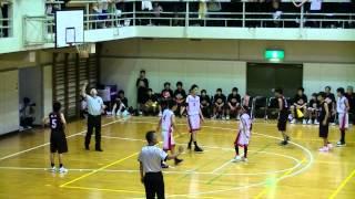 2012 福山市春季総体中学バスケ決勝 松永vs鷹取