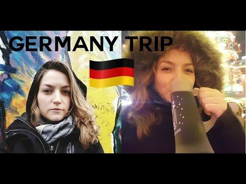 Germany Roadtrip - Christmas, Gluhwein and The Berlin Wall - FULL VIDEO | BeautyObsessed