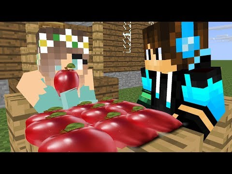 Im hungry my superhero find food giving  Minecraft Animation