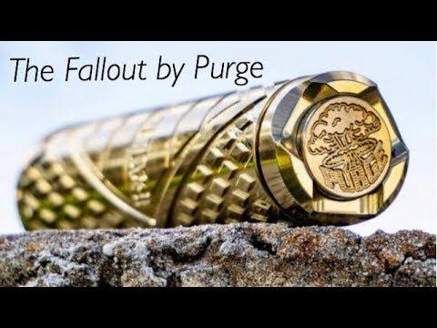 LIVE! Purge Fallout Mech Mod Review - True American Muscle - Vape @ 5 #240