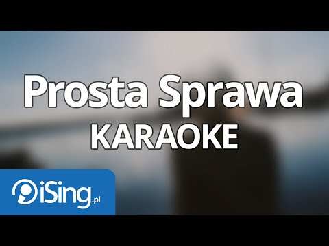 Ewelina Lisowska - Prosta Sprawa (karaoke iSing)