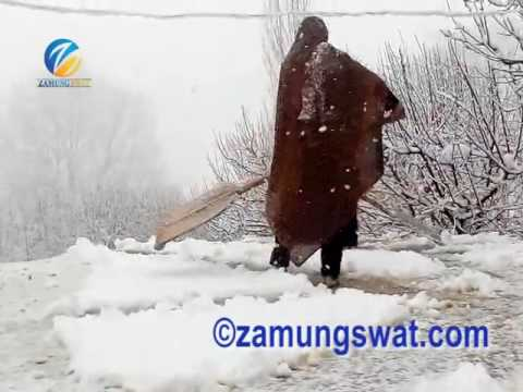 First Snow fall of 2017 in Swat Valley
