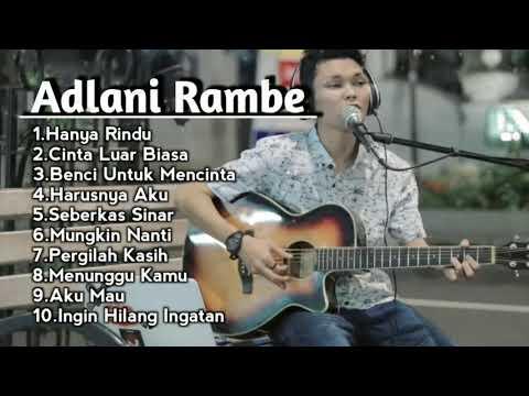 Baper!!! Lagu Cover Adlani Rambe Full Album  Live Akustik New 2019