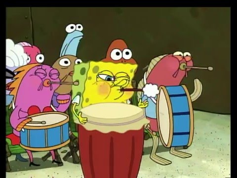 Spongebob - Band Geeks - Instruments