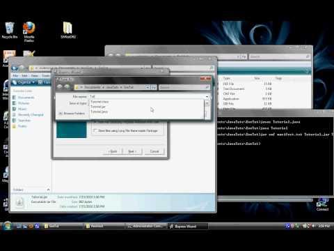 Java.jar to Windows.exe Tutorial