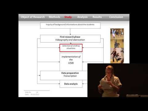 Paper Presentation: The insider's view in dancing and movement composition process