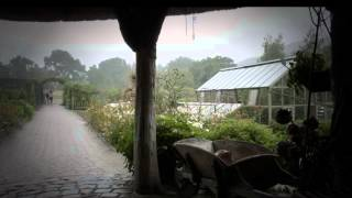 Rain on a Tent - Rain on a Greenhouse. 8 Hours of & ? Rain On A Tent Sound - Raining Sounds To Cancel Background ...