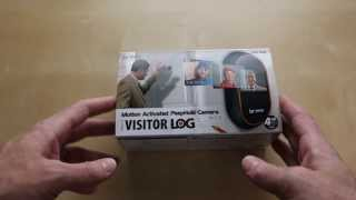 Brinno Motion Activated PeepHole Camera Unboxing and Installation