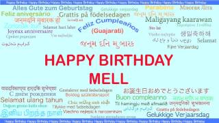 Mell   Languages Idiomas - Happy Birthday