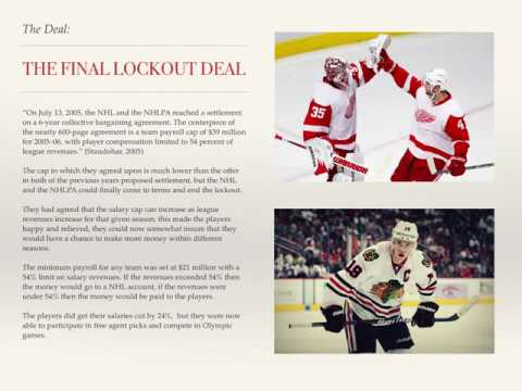 Evans Nicholas NHL Lockout Final