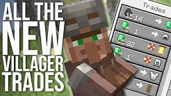 Every New 1.14 Villager Trade (and new trading system EXPLAINED)