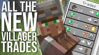 Every New 1.14 Villager Trade  And New Trading System Explained