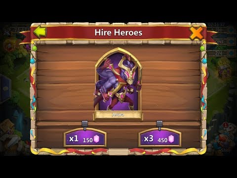 New Hero Asura - 5th Anniversary - Castle Clash