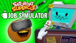 Annoying Orange - Job Simulator Supercut [Saturday Supercut]