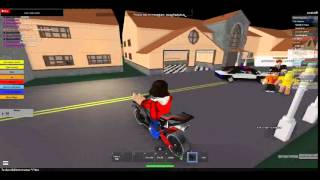 Different Town of robloxia ROBLOX #1 I COLLAPSED A BUS