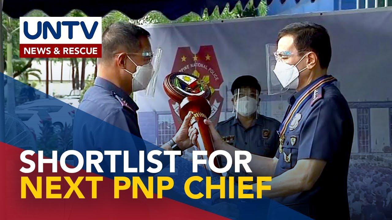 Download Shortlist ng sunod na PNP chief, isusumite ni Sec. Año kay Pangulong Duterte