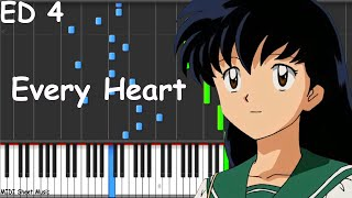 Inuyasha - Every Heart Piano Tutorial