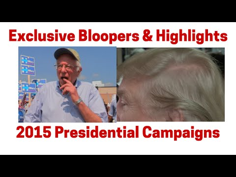 Exclusive Bloopers & 2015 Presidential Campaign Highlights