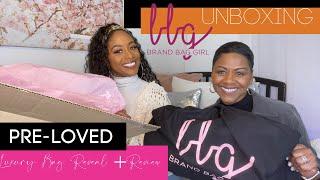 BRAND BAG GIRL UNBOXING! | Pre-loved Luxury Bag Reveal + Review | Meet My Mom! | CYDNEYCOOPERTV