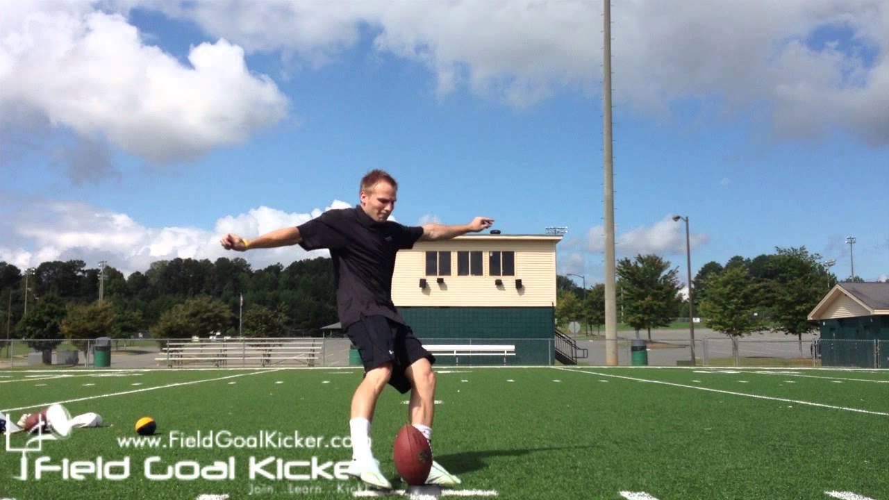 Football Kickoff Technique Hurdle Kick Youtube