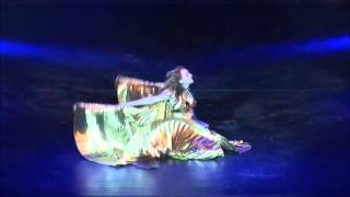 Modern Fusion Belly Dance with Double Wings of Isis