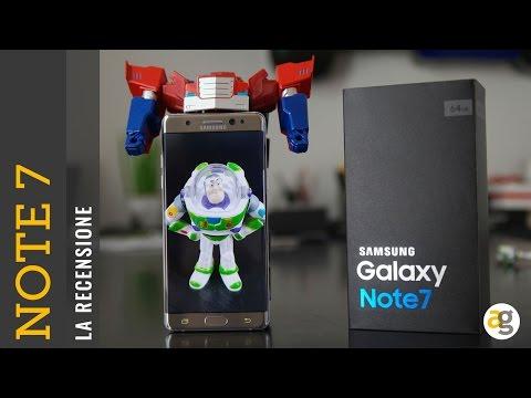Samsung Galaxy NOTE 7 recensione