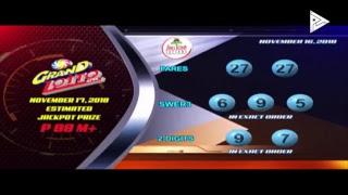 [LIVE]  PCSO Lotto Draws  -  November 16, 2018 9:00PM