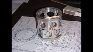Construction Moteur étoile 14 cylndres Partie 1 Carter