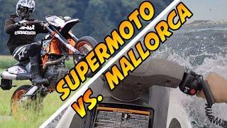 Supermoto Summer vs. Mallorca Special (KTM 690 SMC R, Jet Ski, Wheelies, Burnouts & More)