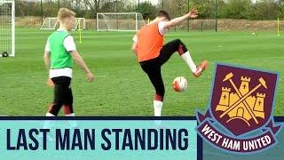 Last Man Standing: West Ham Academy - Panna Challenge