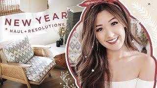 New Year Haul & Resolutions
