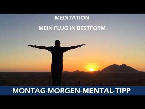 Mentaltipp Mein Flug in Bestform - Meditation