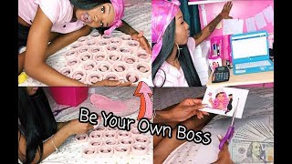 BOSS MOVES $ | How I package my products and great business tips !