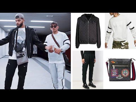 Samra & Capital Bra Huracan OUTFIT: Nike Anzug, Louis