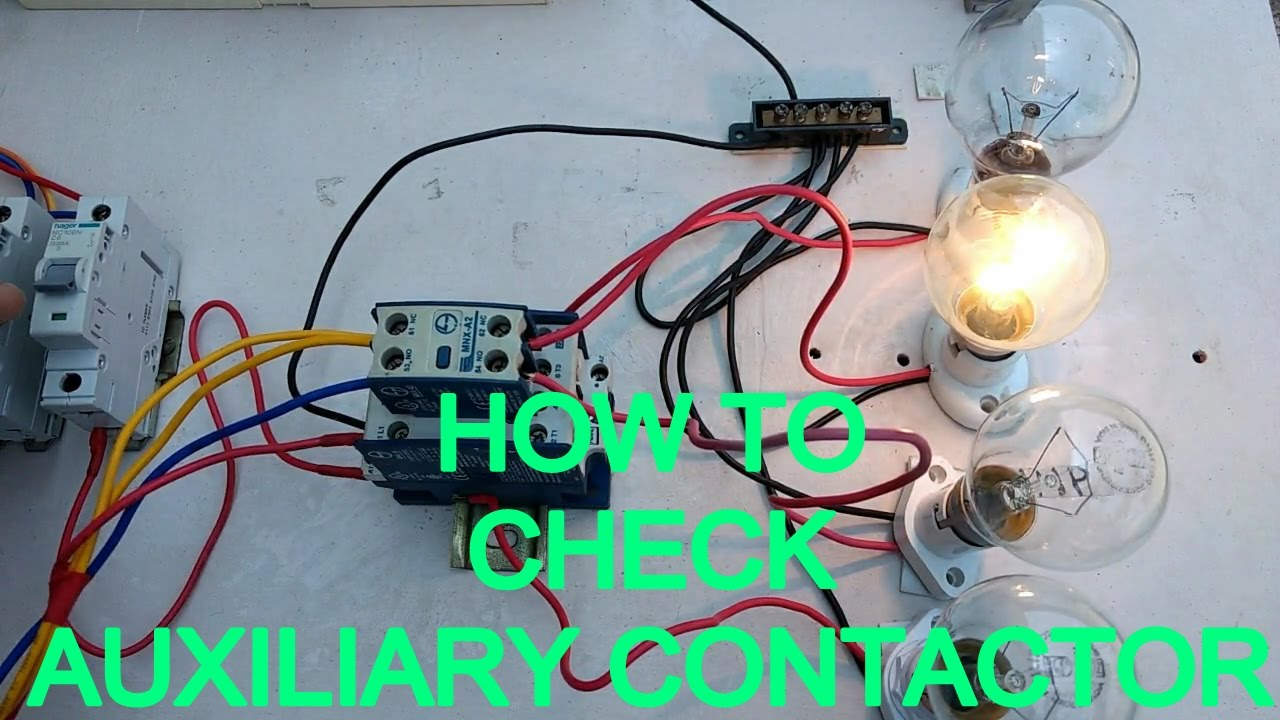 how to work auxiliary contactor ,how to connect auxilary contactorhow to work auxiliary contactor ,how to connect auxilary contactor in tamil \u0026 english