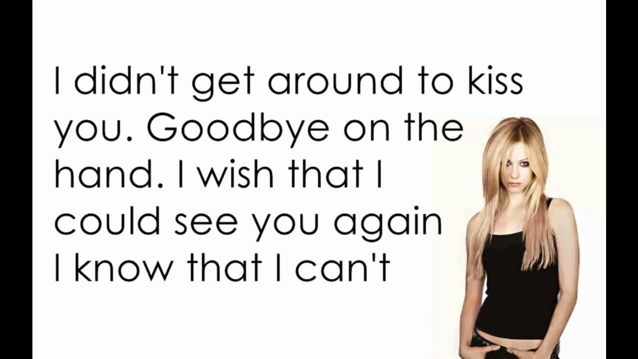 (Avril Lavigne) Slipping On Sunshine Song Lyrics