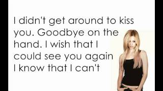 Avril Lavigne - Slipped Away [Lyrics/Letra]