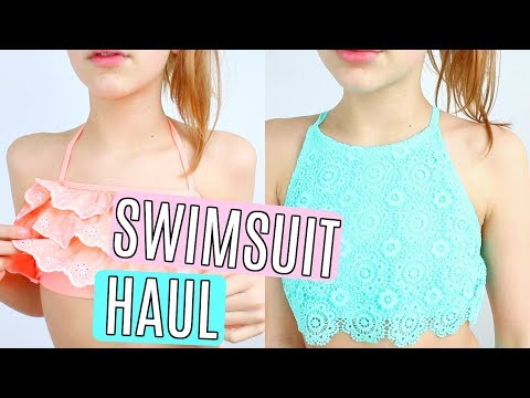 Swimsuit Try On Haul 2018