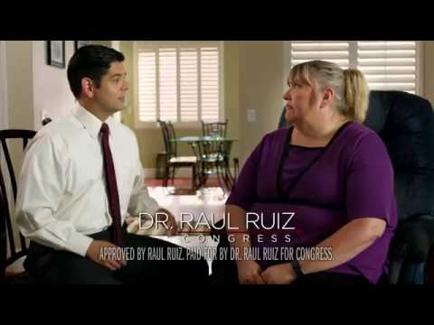 "Dr. Raul Ruiz for Congress 2016 Campaign Ad- ""Melody"""